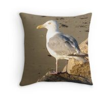 Gull-a-bill  Throw Pillow