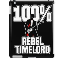 100% Rebel Timelord iPad Case/Skin