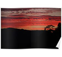 Sunset in Escondido Poster