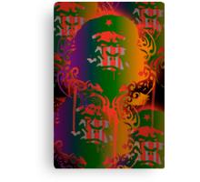 Che Guevara Gorilla Ape Guerilla Revolution Protest poster Canvas Print