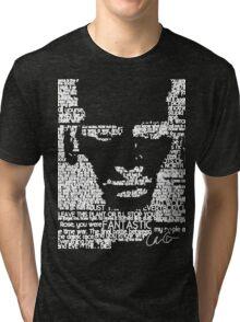 The Ninth Doctor Word Art Tri-blend T-Shirt