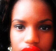 Upper lip by mfuqua
