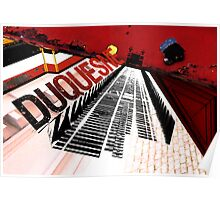 Duquesne Incline Collage Poster