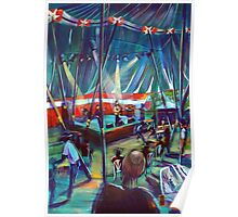 Blues tent - Annie Piper Poster