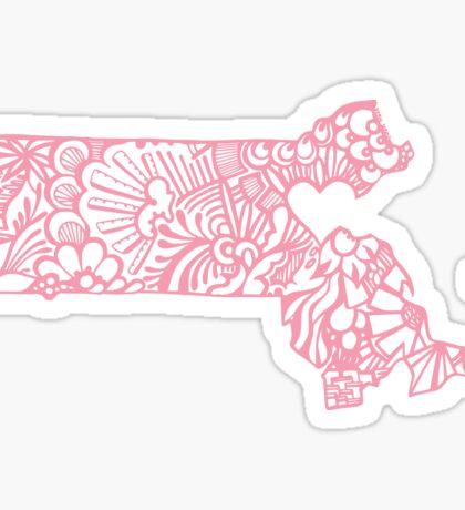 PINK MASS Sticker