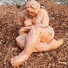 clay figure by Joanna Fountain