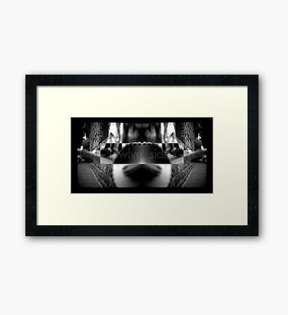 Twelve Sides Framed Print
