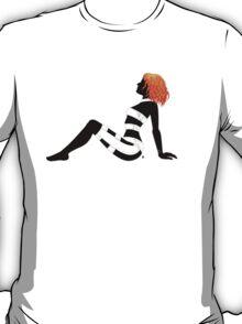 Leeloo Dallas Mudflap (mirror) T-Shirt