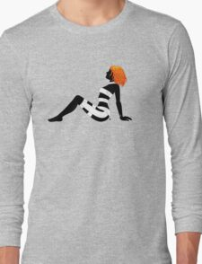 Leeloo Dallas Mudflap (mirror) Long Sleeve T-Shirt