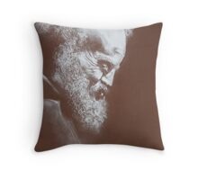 Laugh lines Throw Pillow