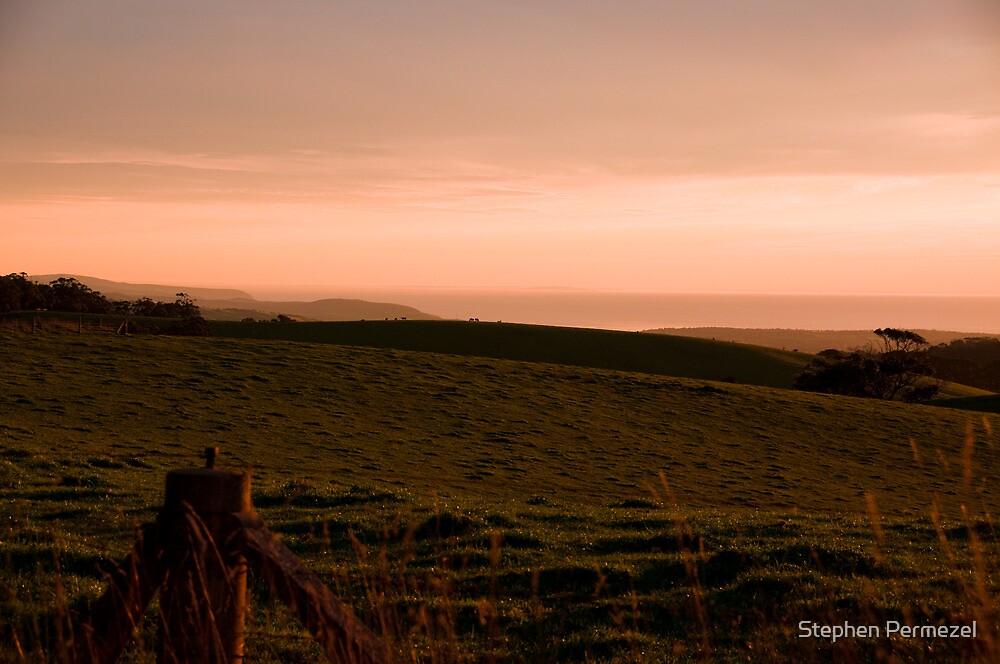Fleurieu Sunset - South Australia by Stephen Permezel