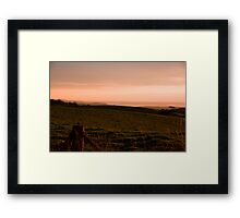 Fleurieu Sunset - South Australia Framed Print