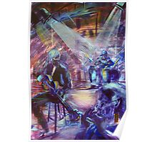 Muster Blues tent - Brian Frazer Trio Poster