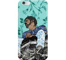 J Cole Floral Swatch iPhone Case/Skin