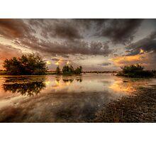 Swampset Photographic Print