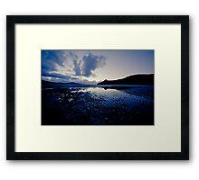 Blueberry Dreams at sunrise...... Framed Print