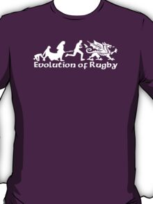 Evolution of Welsh Rugby T-Shirt