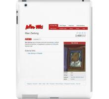 Comrade Aardvark's Cultural Revolution iPad Case/Skin