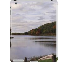 A Scenic View of the Lake iPad Case/Skin