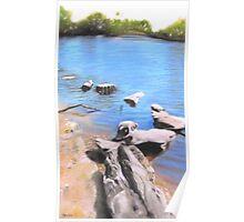 Stone Bridge - Belair National Park  Poster