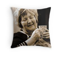 My Beautiful Soul Sister - Portrait of a friend Throw Pillow