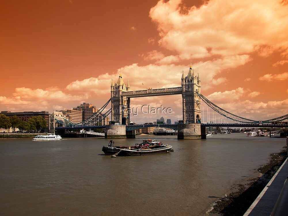 Londons Burning by Ray Clarke