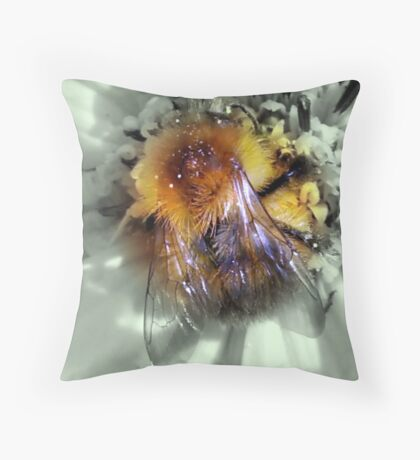 FURRY LITTLE FRIEND 2 Throw Pillow