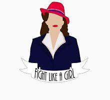 "P. Carter: ""Fight like a Girl."" T-Shirt"
