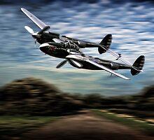P38 Lightning by Bob Martin