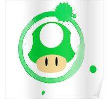 1-Up Mushroom Poster