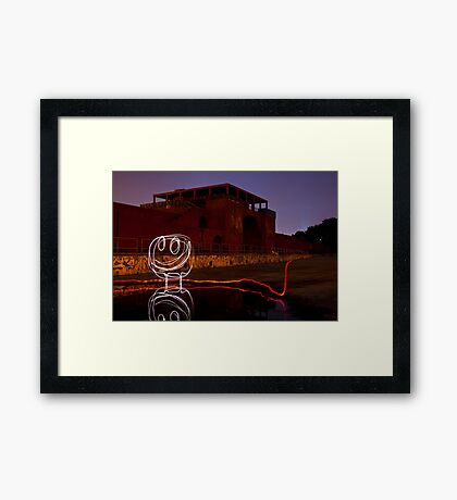 Reflection Coefficient Framed Print