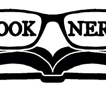 Book Nerd (Black) by NolanRTaylor