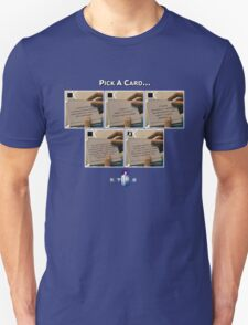 Doctor Who Pick a Card Unisex T-Shirt