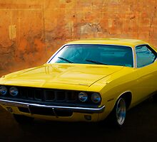 Plymouth Barracuda by Stuart Row
