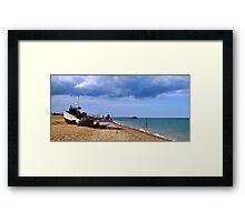 Walmer Beach Framed Print