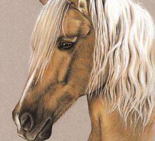 Arts & Horses - Horses Portraits by Nicole Zeug by Nicole Zeug