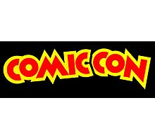 Comic Con - Red and Yellow Photographic Print