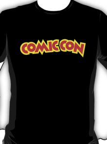 Comic Con - Red and Yellow T-Shirt