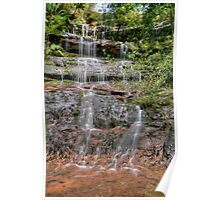McCarrs Creek Road Waterfall Poster