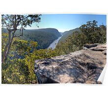 Nepean Gorge Poster