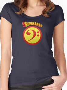superBass Women's Fitted Scoop T-Shirt
