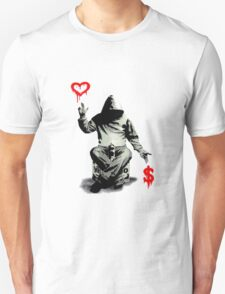 Love Over Money Unisex T-Shirt