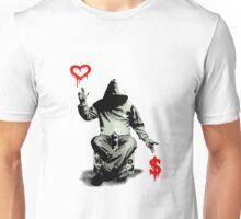 Love Over Money Unisex T-Shirt