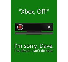 Kinect 9000 - Poster Photographic Print