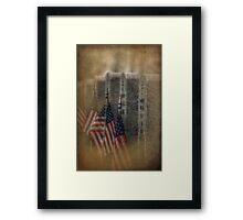 patriots pallet Framed Print
