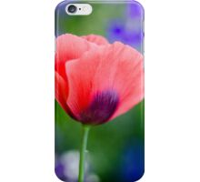 Pretty Pink Poppy Photo iPhone Case/Skin