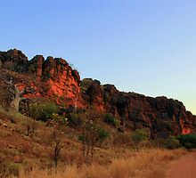 sunset on the gibb river road by nicole makarenco