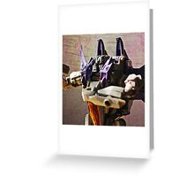 Skywarp Portrait Greeting Card