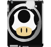 White Super Mushroom iPad Case/Skin