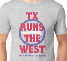 TX AL West Champs Unisex T-Shirt